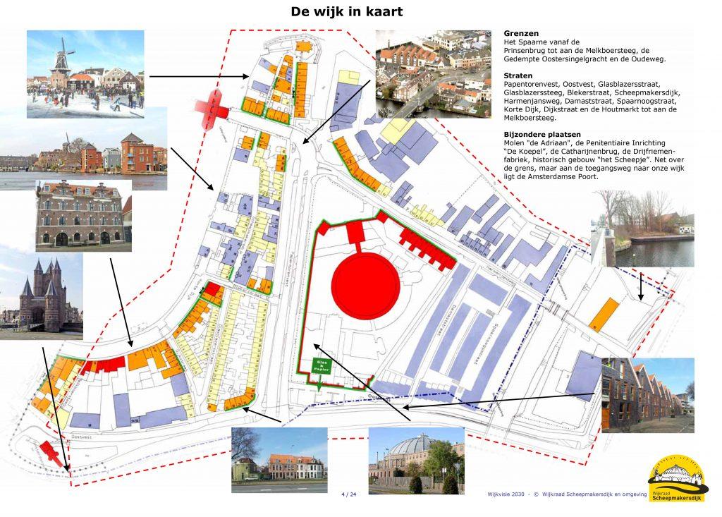 plattegrond uit wijkvisie 2013